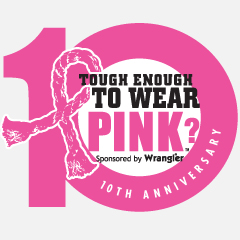 Tough Enough to Wear Pink logo